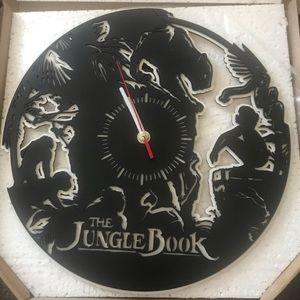 Disney-Jungle book wall clock -Black